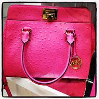 Michael Kors Purse Pink And White