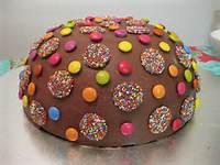 Kids Chocolate Birthday Cake