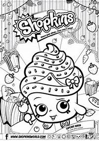 S Hopkins Free Printable Coloring Pages