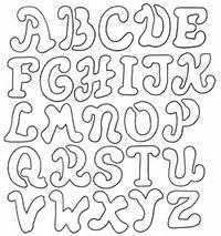 Coloring Pages Alphabet Letter Stencils