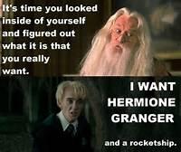 Draco Malfoy Hermione Granger
