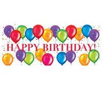 Happy Birthday Balloons Clip Art