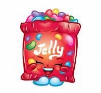 Shopkin B Jelly Cartoon