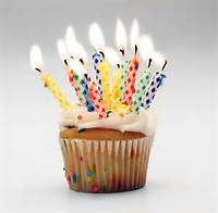 Happy Birthday Muffin