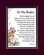 Happy Birthday My Daughter Poems