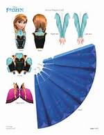 Frozen Paper Dolls Printable