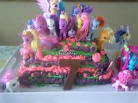 My Little Ponies Birthday Cake Ideas