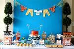 Blue Baby Shower Decoration Ideas