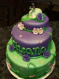 Tiana Princess And The Frog Cake