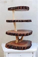 DIY Wood Cupcake Stand