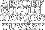 Abecedario De Letras Para Imprimir