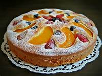 Fruit Pastry Cake