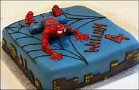 Spider Man Cake Ideas