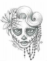 Easy Sugar Skull Drawings Tumblr