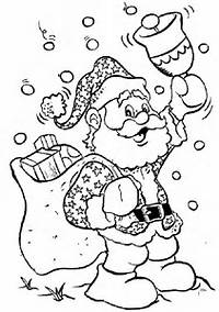 Christmas Theme Coloring Pages