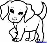 How To Draw Puppy Drawing