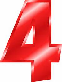Red Number 4