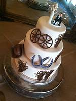 Country Western Wedding Cakes