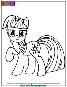 Unicorn Pony Twilight Sparkle Coloring Page | H & M Coloring Pages