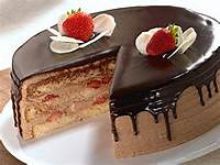 Strawberry Torte Cake To Baroda Order Online At Shop