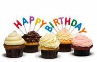 Happy Birthday Cupcake Cake