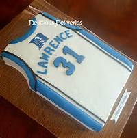 Duke Jersey Birthday Cake