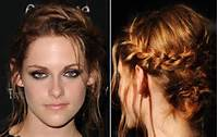 French Braid Updo Prom Hairstyle