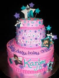 Justin Bieber Birthday Cake