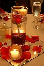 Wedding Table Flower Centerpieces