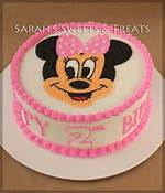 Minnie Mouse Buttercream Cake