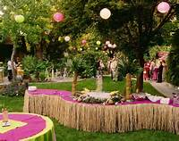Hawaiian Theme Party Decoration Ideas