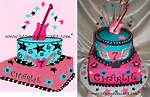 Rock Birthday Cakes For 11 Year Old Girls