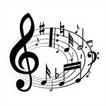 Singing Music Notes Clip Art