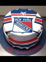 New York Rangers Birthday Cake