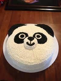 Panda Bear Birthday Cake