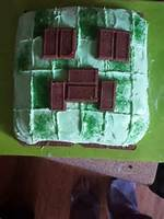 Minecraft Creeper Cake  Branden Birthday Ideas Pinterest