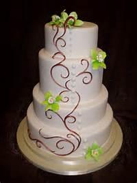 Simple Fondant Wedding Cakes