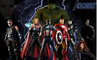 The Avengers Movie Super Heroes
