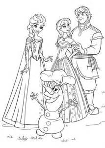 ... Elsa, di Anna, di Olaf e degli altri personaggi del cartone animato