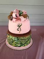 Pink Camo Browning Cakes For Girls