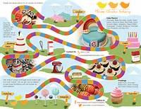 Candy Land Board Game Logo