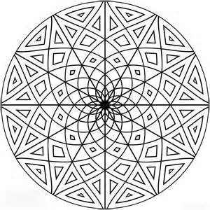 Pattern coloring pages to enhance children's Creativity