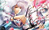 Anime Girl Painting