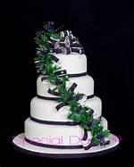 Scottish Thistle Wedding Cake