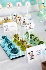 Baby Mickey Mouse 1st Birthday Party Ideas