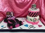 Cake De Monster High