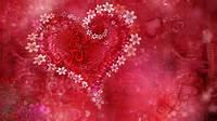 Beautiful Love Flower Heart