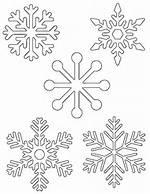 Small Printable Snowflake Patterns