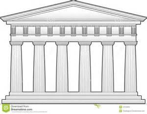Stock Image: Greek Doric Temple. Image: 12123351