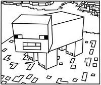Minecraft Coloring Pages For Kids